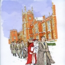 QUB - christmas card