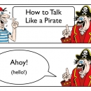 How to talk like a Pirate1
