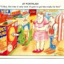 Phil's Amusements promo postcards