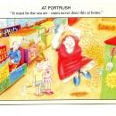 Phil's Amusements promo postcards 2