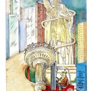 Moffett Mounty promo postcard